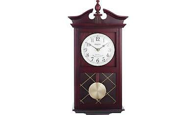 New Reproduction Regulator Dark Oak Westminster Chiming Wall Clock With Pendulum