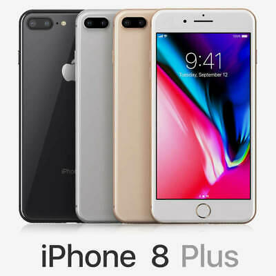 Apple iPhone 8 Plus 64GB T-Mobile Only A1897 Smartphone- Very Good
