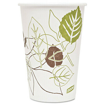 Dixie Pathways Paper Hot Cups, 16oz, 1000/carton 2346PATH NEW