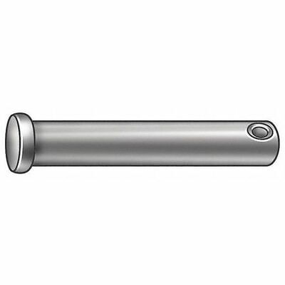 FABORY U39797.037.0612 Clevis Pin,Steel,3/8 in. dia.,PK10