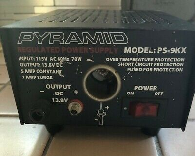 Pyramid PS-9KX regulated power supply