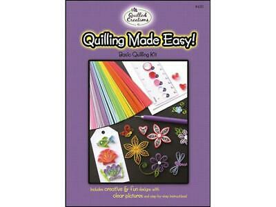 Quilled Creations Qul430  Quilling Kit Quilling Made Easy