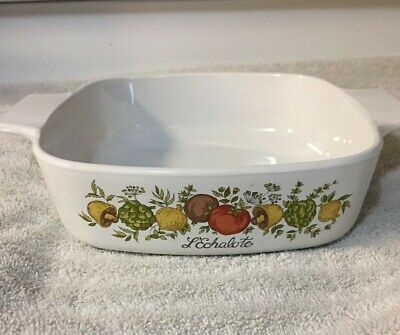 Corning Ware  1 Qt. A-1-B Casserole Dish  Vintage Spice of Life