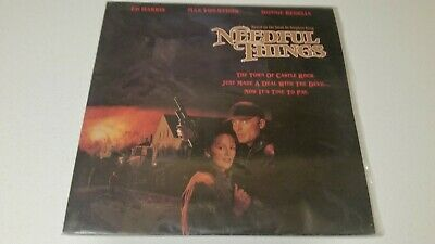 Stephen King's Needful Things Laserdisc LD Ed Harris Sydow Bedelia King