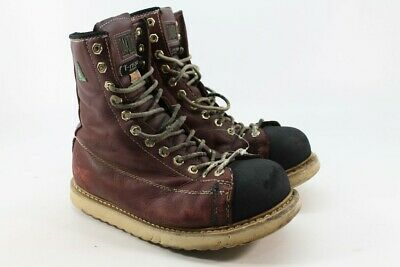 a613d4a9962 RED WING WEDGE Sole Ironworker Safety Boot Electrical Hazard Steel ...