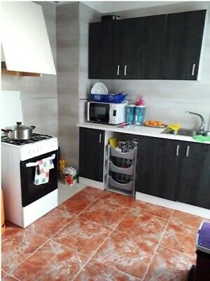 3bed, 1bath furnished 75m2 4th floor apartment in Monovar, Alicante, Spain.