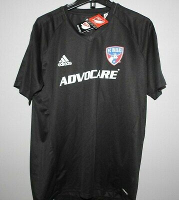 quality design 3bd32 a276c MLS ADIDAS FC DALLAS Soccer Football Jersey New Mens Sizes
