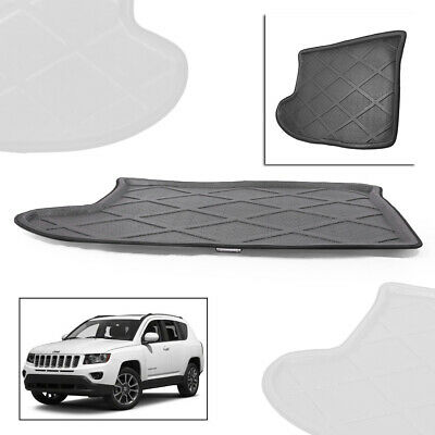 1PC Boot Mat Rear Trunk Liner Cargo Floor Tray For Jeep Compass 2007-2014 st