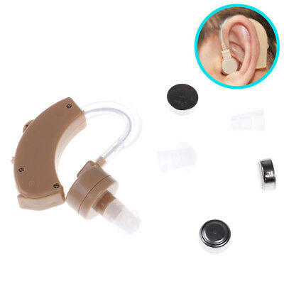 New Best Adjustable Hearing Aids Digital Tone Behind Ear Sound AmplifierHearW'