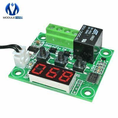 Thermostat Temperature Control W1209 DC 12V LED Digital Thermometer Thermo Contr