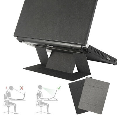 Laptop Stand Holder Portable Invisible Folding Light Ergonomic Computer Mount