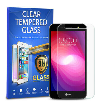 For LG X power 2 LV7 Tempered Glass Screen Protector Phone Cover 2-PACK