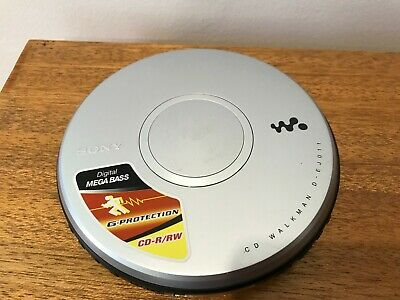 Sony Walkman Portable CD Player D-EJ011 MEGA BASS- Tested and WORKING