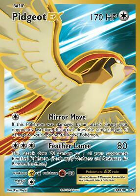 Englisch NM Pokemon M Tauboss EX 65//108 XY12 Evolutions M Pidgeot EX