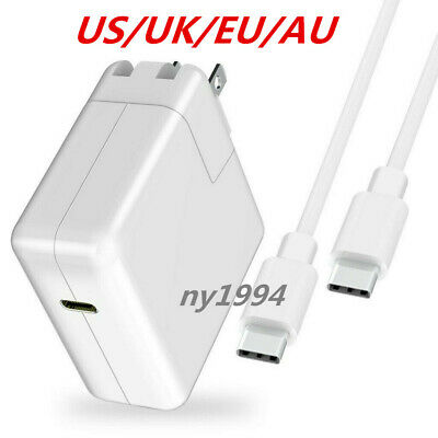 29/61/87W For Apple MacBook PRO USB-C Type C Power Charger Adapter Premium