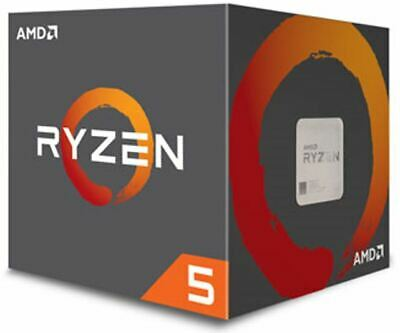 AMD Ryzen 5 2600, 6 Cores AM4 CPU, 3.9GHz 19MB 65W w/Wraith Stealth Cooler Fa...