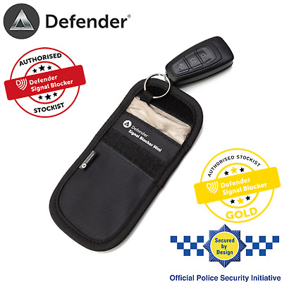 Genuine Defender Signal Blocker Mini Car key Signal Blocking Pouch UK Stockist
