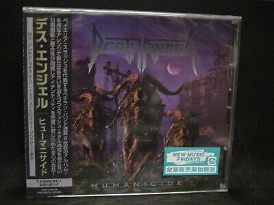 DEATH ANGEL Humanicide + 1 JAPAN CD Machine Head Vicious Rumors Children Of Bodo