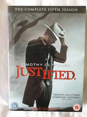 Justified - Season 5 - with Slipcase - New & Sealed
