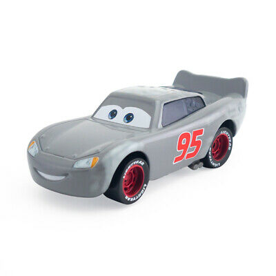 Disney Pixar Cars Primer Lightning Mcqueen Diecast Toy Model Car 1:55 Kids Gift