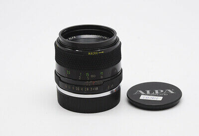 Ex++ APO ALPA KERN-MACRO-SWITAR 50mm f/1.9 Black Paint Original Leica R Mount