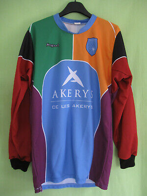Maillot Rugby AOC Ernest Wallon CE UES Akerys Ovalie Club Vintage Jersey - M