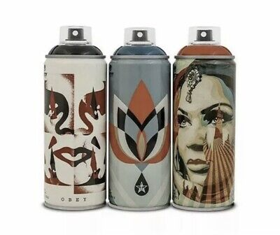 Obey/Shepard Fairey X Montana Spray Can Paint Set Beyond The Street 30th