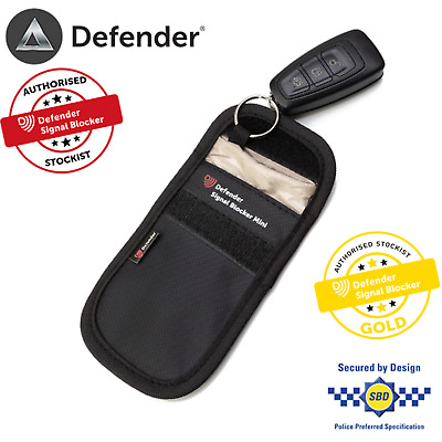 Car Key Signal Blocker Mini Faraday Cage Fob Pouch Keyless Blocking Bag UK Stock