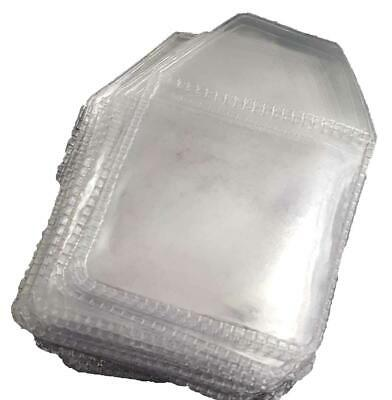 Coin Envelopes Storage Wallets 2 X 2(Pack Of 100)  Strong Clear PVC Plastic