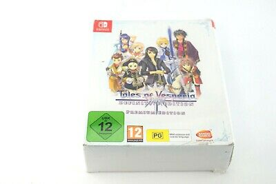 Tales Of Vesperia Definitive Edition Premium Collector Switch New Sealed