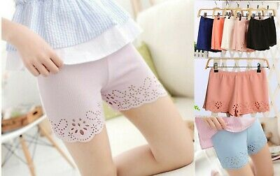 Girls Summer Shorts Lace Pants Elasticated waist one size Age 9 10 11 12 13 year