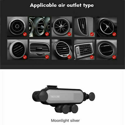 Universal 360° Gravity Car Air Vent Mount Holder Cradle Stand Clip for Phone GPS