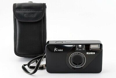 【EXC+++】Konica K-mini 35mm Point & Shoot Film Camera w/ Case from JAPAN 436114