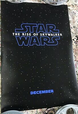 Original STAR WARS The Rise of Skywalker DS 27X40 Movie Theater Poster USA Ver A