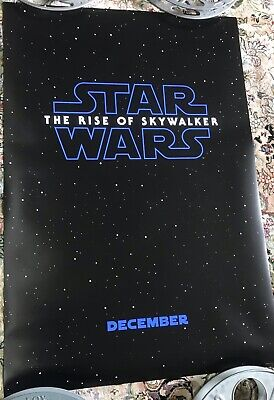 STAR WARS The Rise of Skywalker 27 X 40 D/S Movie Theater Poster Auth Orig USA
