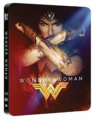 Wonder Woman (Hmv Exclusive Steelbook) [Bluray 3D+2D+Download] S2