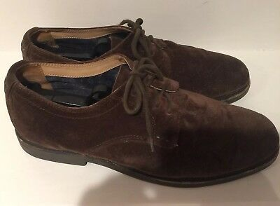 6fa202d2acc Sebago Mens Turner B810203 Lace Up Oxford Shoe Dark Brown Suede Size 9.5 M