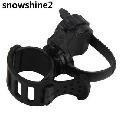 360 Degree Cycling Bicycle Bike Mount Holder for LED Flashlight Torch Clip