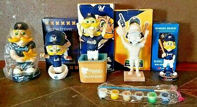 Bernie Brewer Milwaukee Brewers NIB Bobbleheads Pick Your Favorite Bobblehead