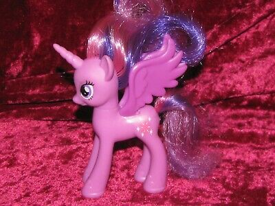 My Litte Pony G4 Princess Twilight Sparkle Bunte Haare Flugel