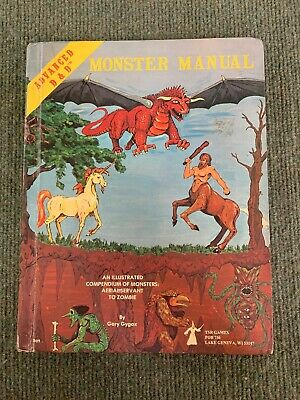 Dungeons and Dragons Monster Manual 4th Edition 1979