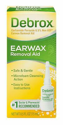 Debrox Drops Earwax Removal Aid drops, 0,5 oz / 15 ml - Worldwide Free Delivery