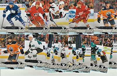 2018-19 Ud Overtime Lot Of 36 Rookies Silvers,,Blue & Red Parallels Loaded Lot