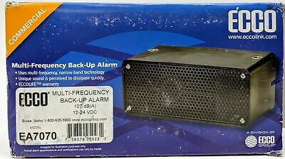 Ecco Multi-Frequency Back-Up Alarm 107 dB(A) EA7070