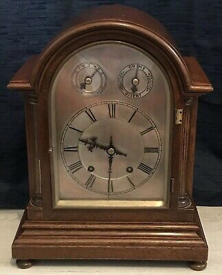 Magnificent Antique German Winterhalder & Hofmeier Clock 1890's