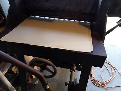 A2 Paper Guillotine, Manually operated.