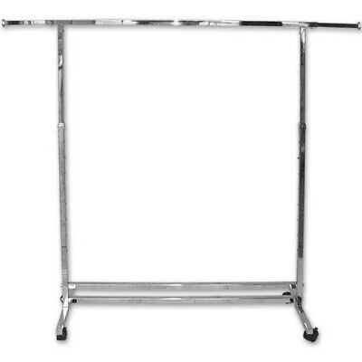 Straight Single Rail Clothing Rack - New