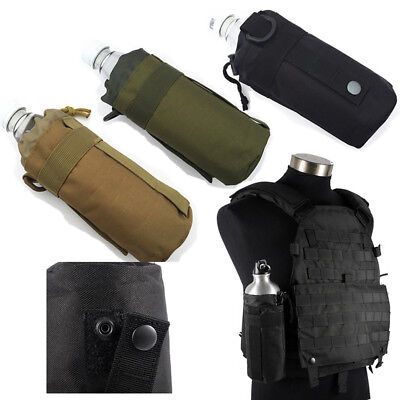 Outdoor Tactical Molle Water Bottle Bag Hiking Belt Pouch Holder New Kettle T1T5