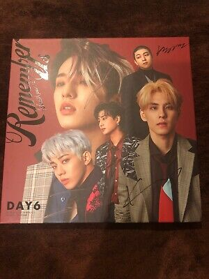 Day6 Remember Me Signed Album from Mnet PC Included!