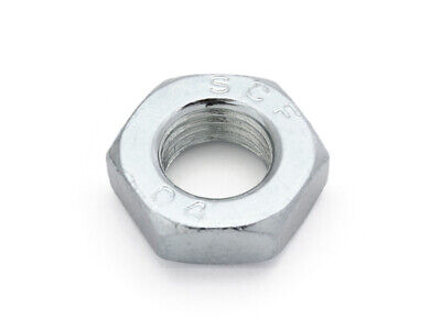 Din 439 Hexagon Nut Low Form, Zinc Plated ( Vpe 100 Piece)